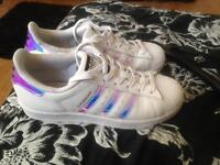 Adidas superstars size 5.5