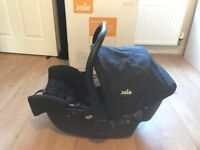 Joie Infant Carrier - Baby Car Seat- Very Good Condition, Just Like NEW