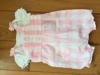 Baby girls newborn romper suit - Boots - £3.50