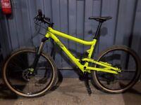 Commencal El Camino S (Medium) full suspension bike - mint condition!