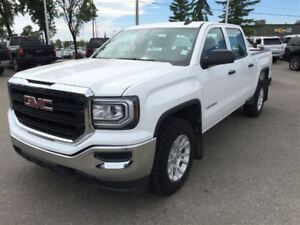 2016 GMC Sierra 1500 Base|5.3L|Crew CAB|Keyless Entry|Vinyl Floo