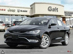 2016 Chrysler 200 C | SAVE 27% | LEATHER | HEATED SEATS | LIGHTI