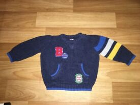 F&F basketball jumper 6-9 months Bargain £1
