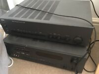 NAD amp C 320 and surround sound receiver T 760 - may be repairable or useful for parts - £200 ono