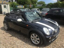 MINI COOPER CONVERTABLE 2007 ONLY 60K @ AYLSHAM ROAD AFFORDABLE CARS