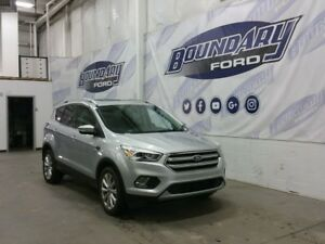 2017 Ford Escape Titanium W/ Leather, Remote Start, Sunroof