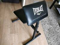Everlast Seated Arm Curl Bench