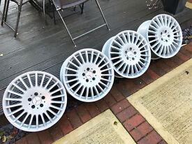 """18"""" Mercedes CLK BBS alloy wheels 5x112 - Audi VW Golf"""