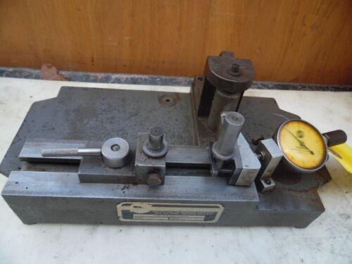 "Superior SC-10 Swing Check Gear Tester Checker Industrial W Gauge .0001"" USA"