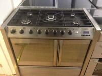 stainless steel cooker (double oven)