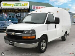 2011 Chevrolet Express 3500 *Unicell Bubble Van. Traffic Cone Ho