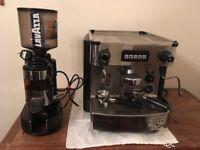 Used Industrial Coffee Machine and Grinder