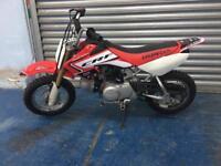 Honda CRF 50 F kids motorbike semi automatic 3 gears 4 stroke CRF50