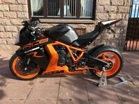 2013 KTM RC8R For Sale **REDUCED**