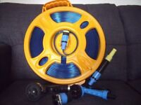 5 metre roll flat food grade hose with carrier