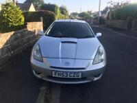 Toyota Celica 1.8 VVT-i Silver 53-Reg NEW 12 Months MOT Leather Timing Chain Sunroof £950