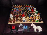 Lego minifigures £2 each (small board £3 each)