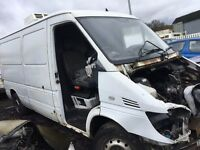 MERCEDES SPRINTER 05 FRONT WING DRIVER SIDE BREAKING