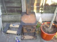 HAND MADE STOVE GARDEN HEATER WHAT EVERY YOU LIKE PICTURES SAY IT ALL UNUSUAL !!!