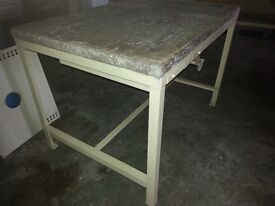 """Heavy duty work bench Type """"H"""", second hand but in good order, other types elsewhere on Gumtree"""