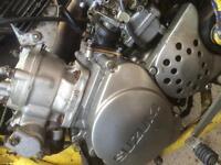 Suzuki 125 cc engine 2 stroke runs mint