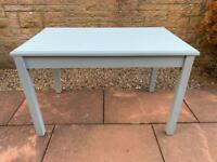 Solid Grey Dining Table - Can Deliver