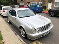 Mercedes clk430 v8 auto 1460000 mails