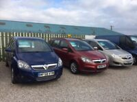 Vauxhall Zafira ** Cornish Car Sales - 2 available - SALE ON **
