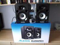 Alesis Elevate 5 Studio Monitors (Pair).