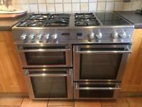 Double range cooker, leisure cuisine master 100.