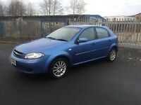 2007 Chevrolet lacetti 1.6 ,, mot and taxed, £550