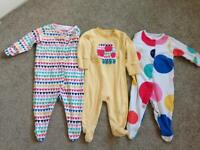Next Girls upto 3 month grows / sleepsuit