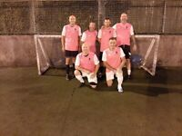 new teams and players wanted for 5 a side football league at soccerworld newcastle