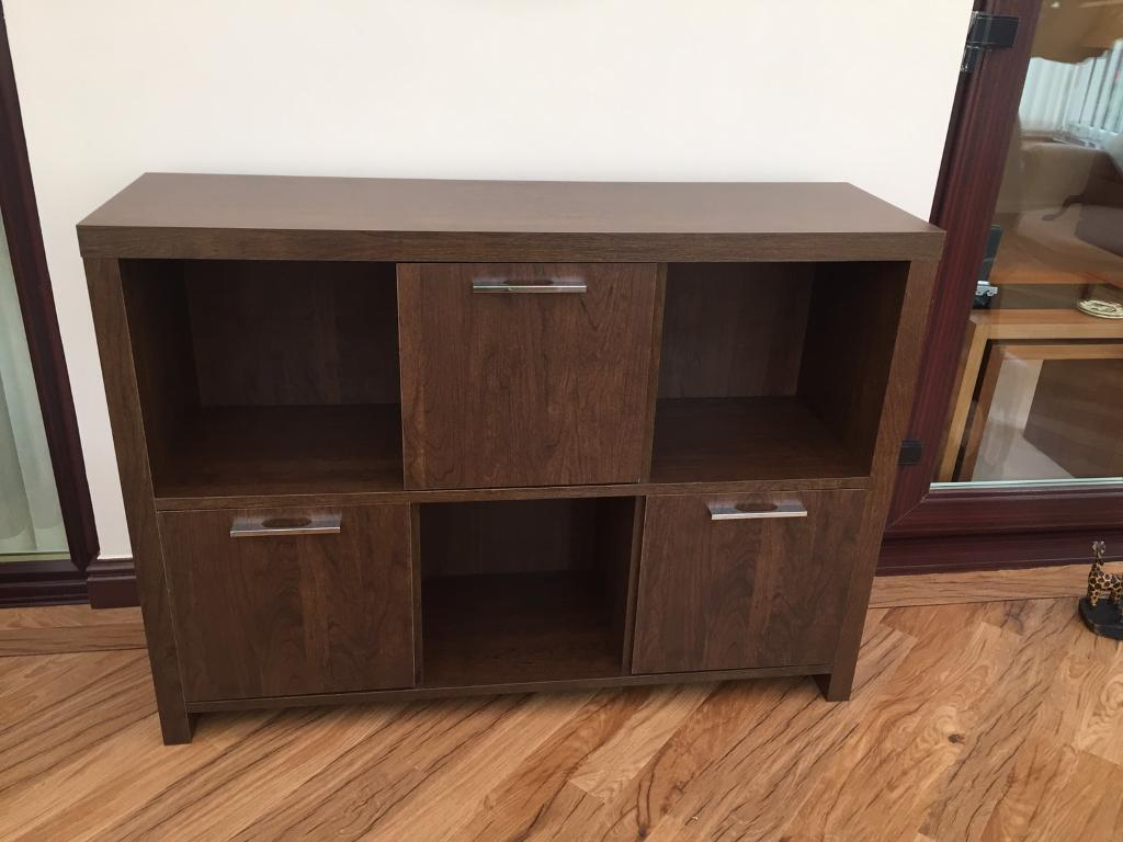 Sideboard, nest of tables and 2 side tables