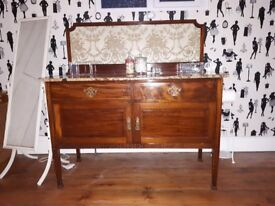 Large Antique Washstand with Marble Top £180 ono