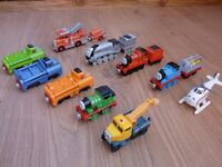 10 Thomas and Friends Take and Play metal trains bundle
