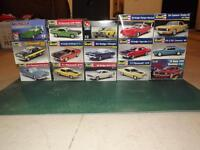 1/25 muscle car kits and supplies