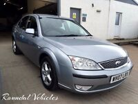 LOW MILES 2007 Ford Mondeo 1.8 Edge,Silver met, 2 owners from new, full history, Mot March 2018 !!