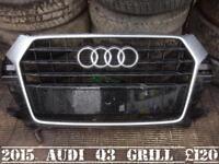2015 Audi Q3 grill
