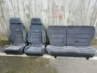 ford escort rs2000 trim recaro seats mk5 ( rs cosworth xr3i ghia s etc )