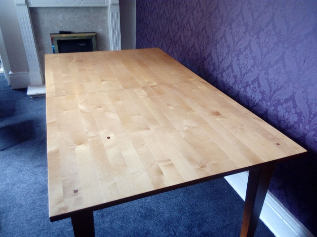 IKEA EXTENDABLE DINING TABLE
