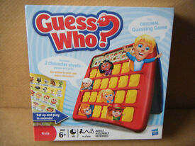 (Guess Who) the original guessing board game. By Hasbro 2009. New in Sealed box.