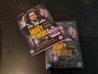 All The Money In The World DVD, Sealed with additional sleeve cover and Digital Ultraviolet