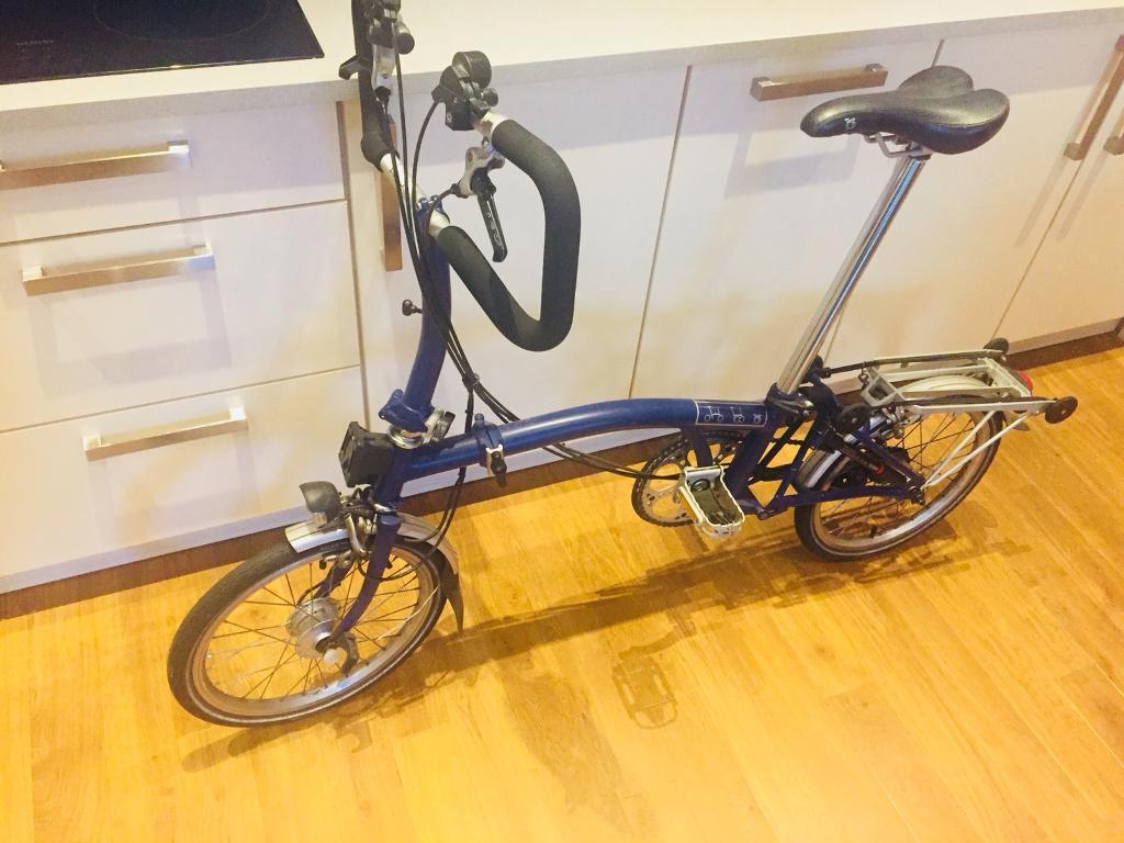 Brompton P6N 2013 Folding Bike