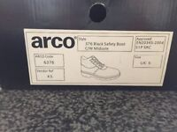 Brand new Arco safety boots size 5