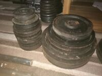 Olympic weights set