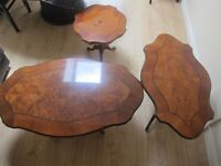 3 BEAUTIFUL ITALIAN TABLES: