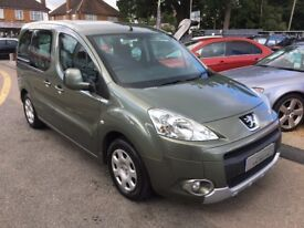 2009/09 PEUGEOT PARTNER TEE PEE 1.6 HDI TEE PEE S 2 OWNERS,GREY GOOD CONDITION,LOOKS & DRIVES WELL