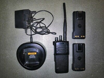 Motorola DP4400e VHF Radio - 2 Batteries + Charger