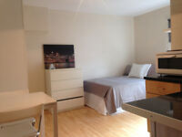 106E-WEST KENSINGTON-MODERN DOUBLE STUDIO FLAT, FURNISHED, BILLS INCLUDED, MUST SEE- £230 WEEK